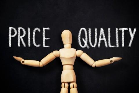 prezzo e qualità